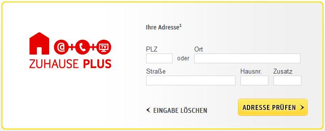 Kabeldeutschland-Verfügbarkeitscheck