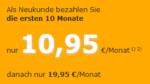 cablesurf 20.000 für 10,95 Euro pro Monat