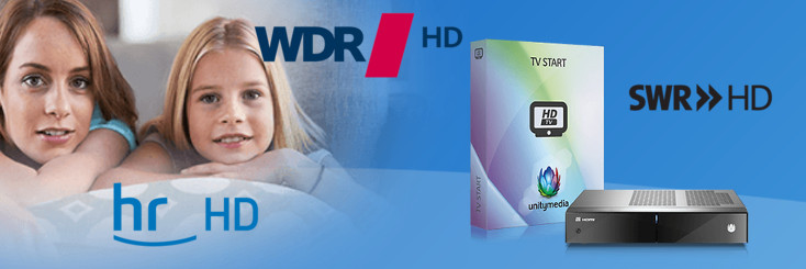 Unitymedia HR SWR WDR HD