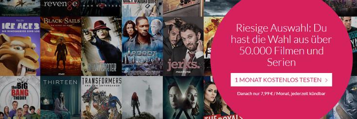 maxdome Filmauswahl