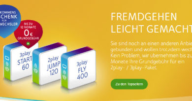 Unitymedia - Start, Jump, Fly
