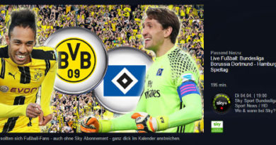 BVB vs. Hamburg