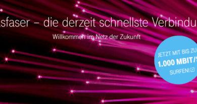 Telekom Glasfaser 1000