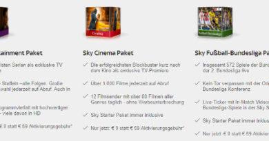 Sky Angebote Dezember 2017