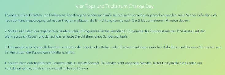 Tipps und Tricks zum Change Day