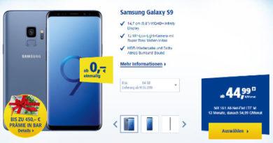 1&1 Samsung Galaxy S9