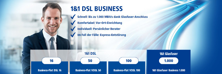 1und1 DSL Business