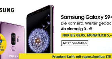 1und1 Samsung S9 Mai 2018