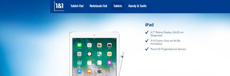 1und1 iPad