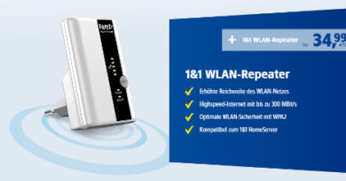 1&1 Fritz Wlan Repeater