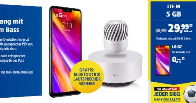 LG G7 Bluetooth Lautsprecher
