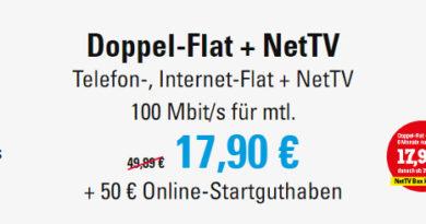 NetCologne Doppel Flat