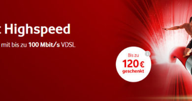 Vodafone DSL Juni 18
