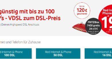 Vodafone DSL Juli 2018