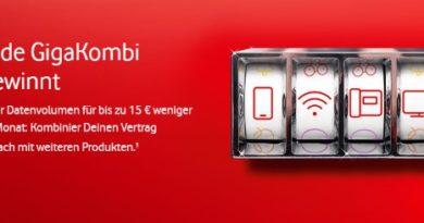 Vodafone GigaKombi Slot