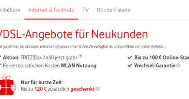 Vodafone VDSL