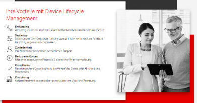 Vodafone Device Lifecycle Management
