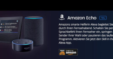 Waipu TV Amazon Echo Alexa