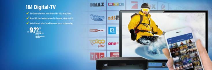 1und1 Digital TV
