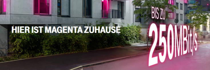 Telekom Magenta Zuhause 250MBit/s
