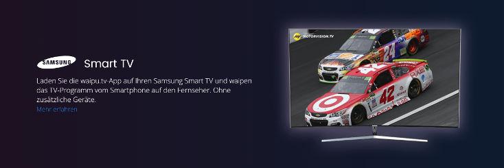 waipu TV Samsung TV