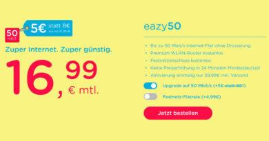 eazy 16,99 Euro