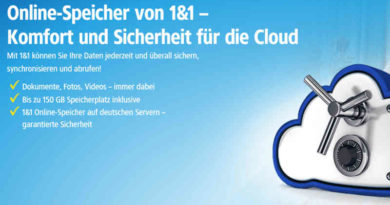 1&1 DSL Cloud