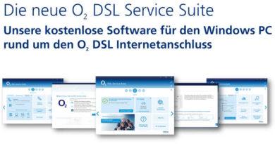 o2 DSL Service Suite