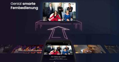 Waipu TV smarte Fernbedienung