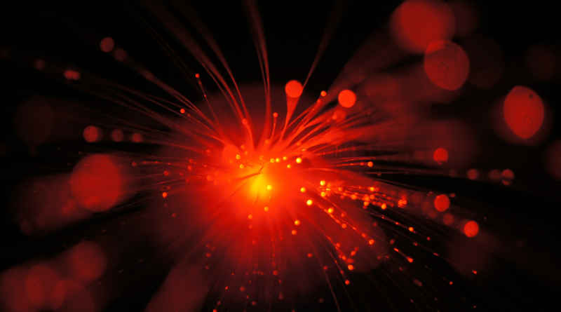 Glasfaser rot