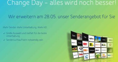 Unitymedia Change Day