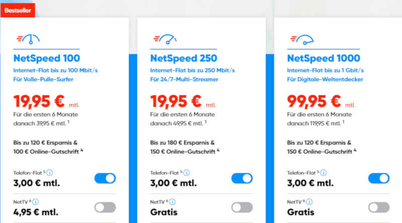 NetCologne NetSpeed 1000