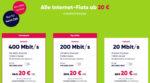 PŸUR kleine Preise – Alle Internet-Flats ab 20 €