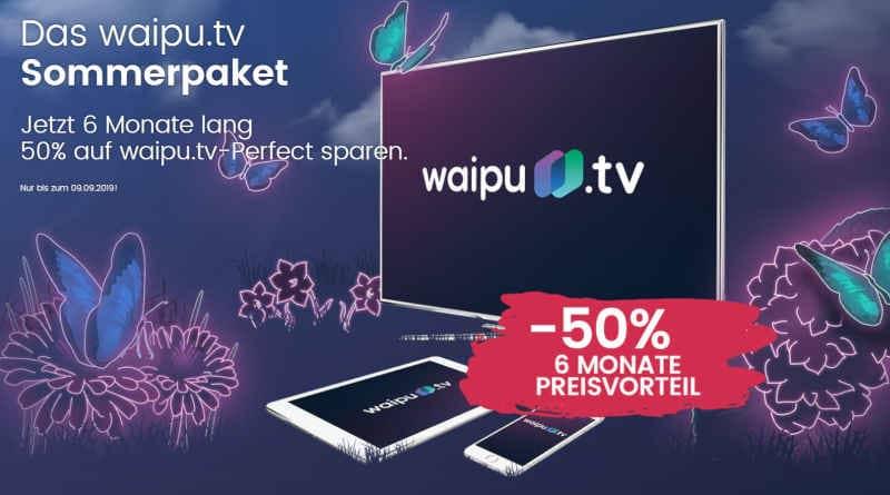 waipu TV Sommeraktion