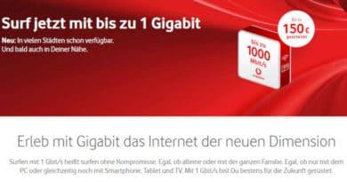 Vodafone Gigabit