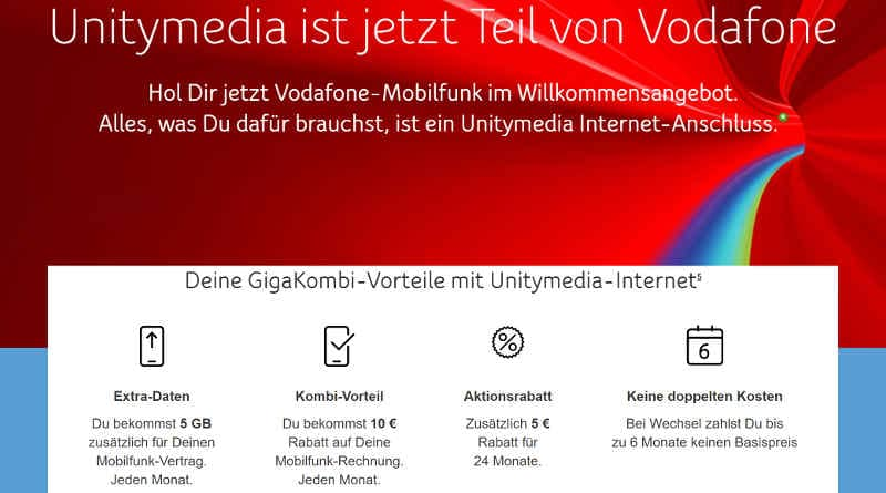 Unitymedia ist jetzt Vodafone