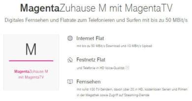 MagentaZuhause M mit MagentaTV