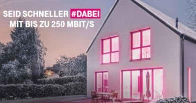 Telekom 250 Mbit/s