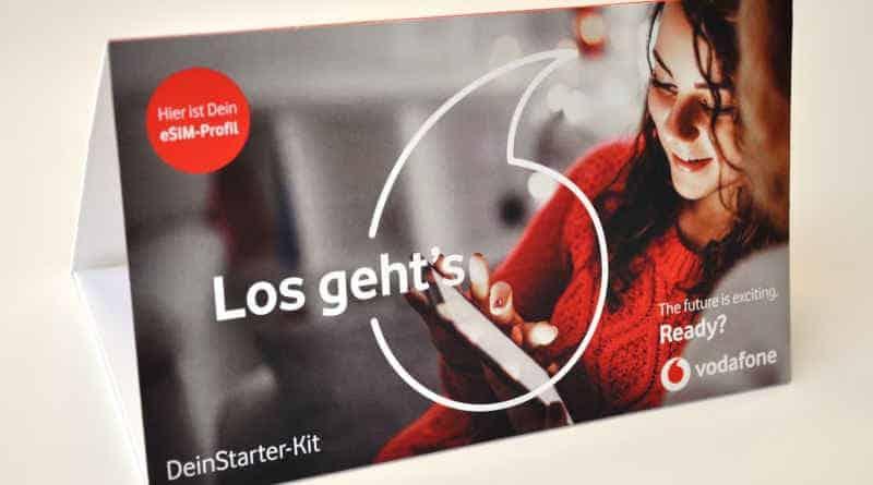 Vodafone eSIM Starter-Kit