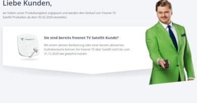 freenet TV Sat Abschaltung