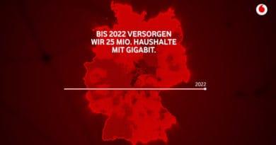 Gigabit Haushalte Vodafone