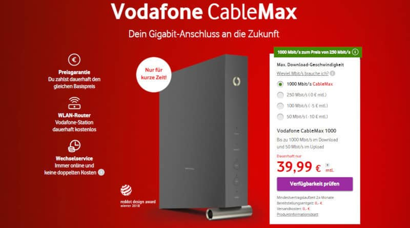 Vodafone CableMax